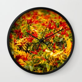 Caliente! Wall Clock