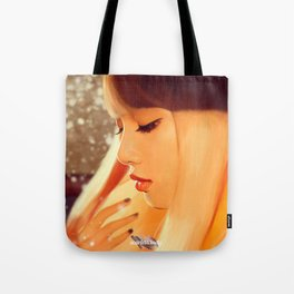 Lisa - Black Pink (Square two) Tote Bag