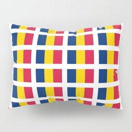 flag of chad, tchad,chadian,Tchacien,Tchadienne,N'Djamena, Pillow Sham