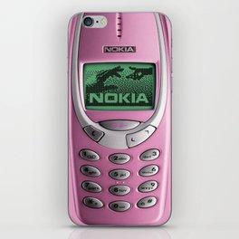 OLD NOKIA Pink iPhone Skin