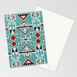 Native American Indians Navajo Pattern Stationery Cards