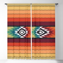 American Native Pattern No. 138 Blackout Curtain