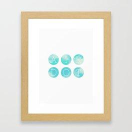 Airdot Framed Art Print