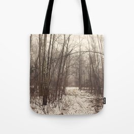Bare Woods Tote Bag