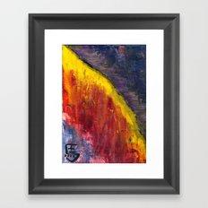 Desert Ridge Framed Art Print