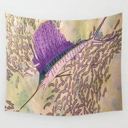 Sailfish Wall Tapestry