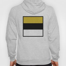 Team Colors 8...Gold ,black and white Hoody