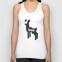 lamb Tank Tops featuring LAMB by MDRMDRMDR