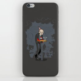 Richter at the Party iPhone Skin