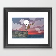 Gone Fishing (2) Framed Art Print