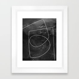 Minimal 9 Framed Art Print