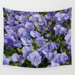 Pansy flower Wall Tapestry