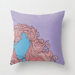 Shaman's Spiral Throw Pillow