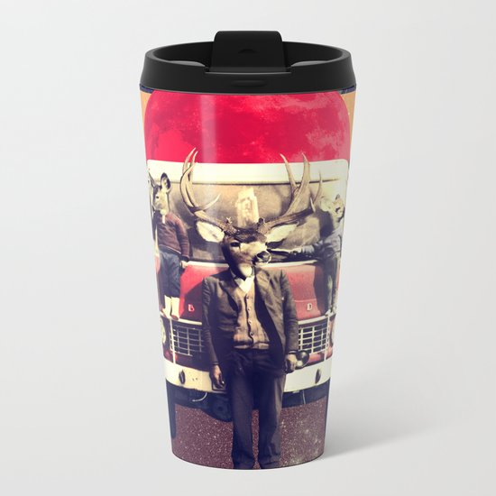 El Camion Metal Travel Mug
