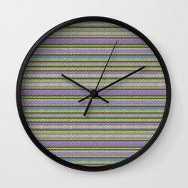 Knitting pattern Wall Clock
