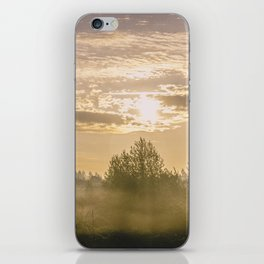 Sunrise in Woodburn iPhone Skin