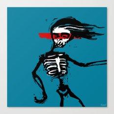 Zombie Dance Canvas Print