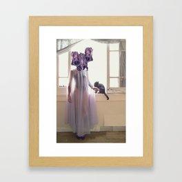 Inflorescencias 4 Framed Art Print