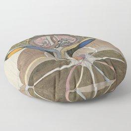Hilma af Klint Tree of Knowledge No. 1 (1913) Floor Pillow