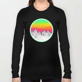 Mountain Scene Long Sleeve T-shirt