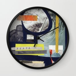 Collage Exp. 1 Wall Clock