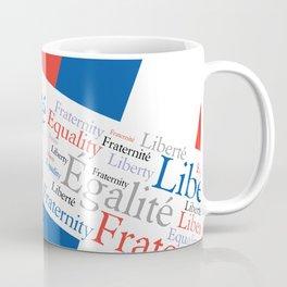 Liberty Equality Fraternity France Coffee Mug
