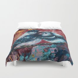 Love Birds by Lena Owens Duvet Cover