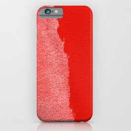 Two Times Red iPhone Case