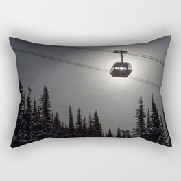 Sun Through the Gondola Rectangular Pillow