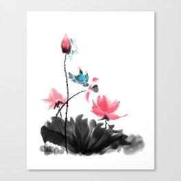 Shh... Canvas Print
