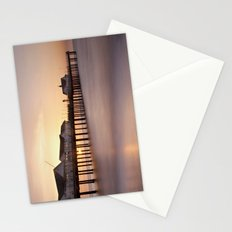 Southwold Pier at Sunrise Stationery Cards