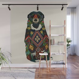 sun bear almond Wall Mural