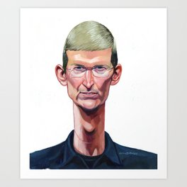 Tim Cook Art Print