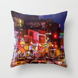 Nashville, Tennessee Throw Pillow