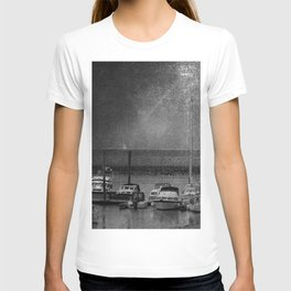 Harbour of Neuharlingersiel lower saxony Germany T-shirt