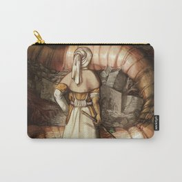 The Midwife and the Lindworm - Title Version Carry-All Pouch