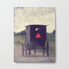 Amish Metal Print