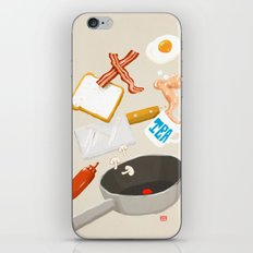 Breakfast Time iPhone & iPod Skin