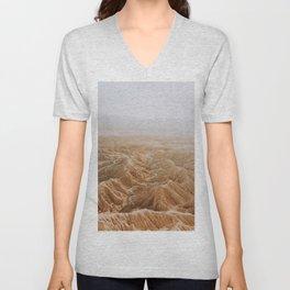 Desert Valley VII / Anza Borrego, California Unisex V-Neck