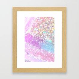 Pastel Kei Galaxy Framed Art Print
