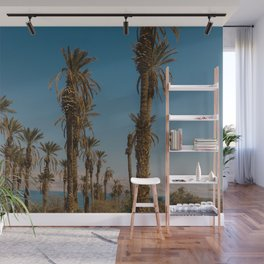 Palm trees in the Negev Desert, Israel Wall Mural