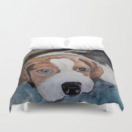 Cute Little Puppy Duvet Cover