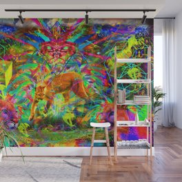 The Laser Focus of Couger Conciousness Wall Mural