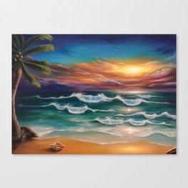 Ode to Palawan Canvas Print