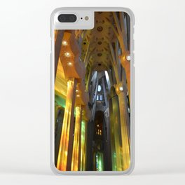 Sagradia Familia 2 Clear iPhone Case