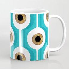Eye Pod Turquoise Coffee Mug