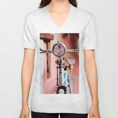 Vintage bicycle Unisex V-Neck