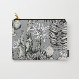 Cactuses with flowers Carry-All Pouch