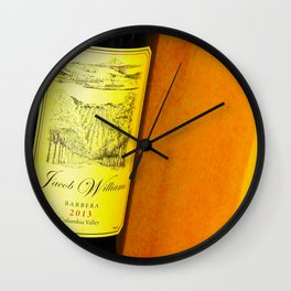 Jacob William's 2013 Barbera Wall Clock