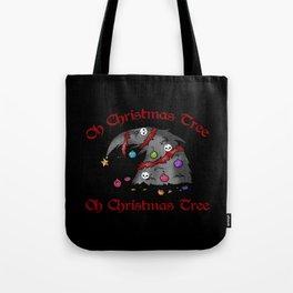 Oh Christmas Tree - Goth, Skull Tote Bag